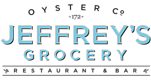 Jeffrey's Grocery, West Village, New York City Logo